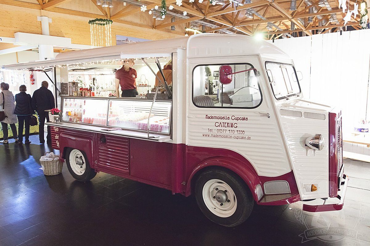 Mobile Kaffeebar Catering Citroen HY Food-Truck Mademoiselle Cupcake