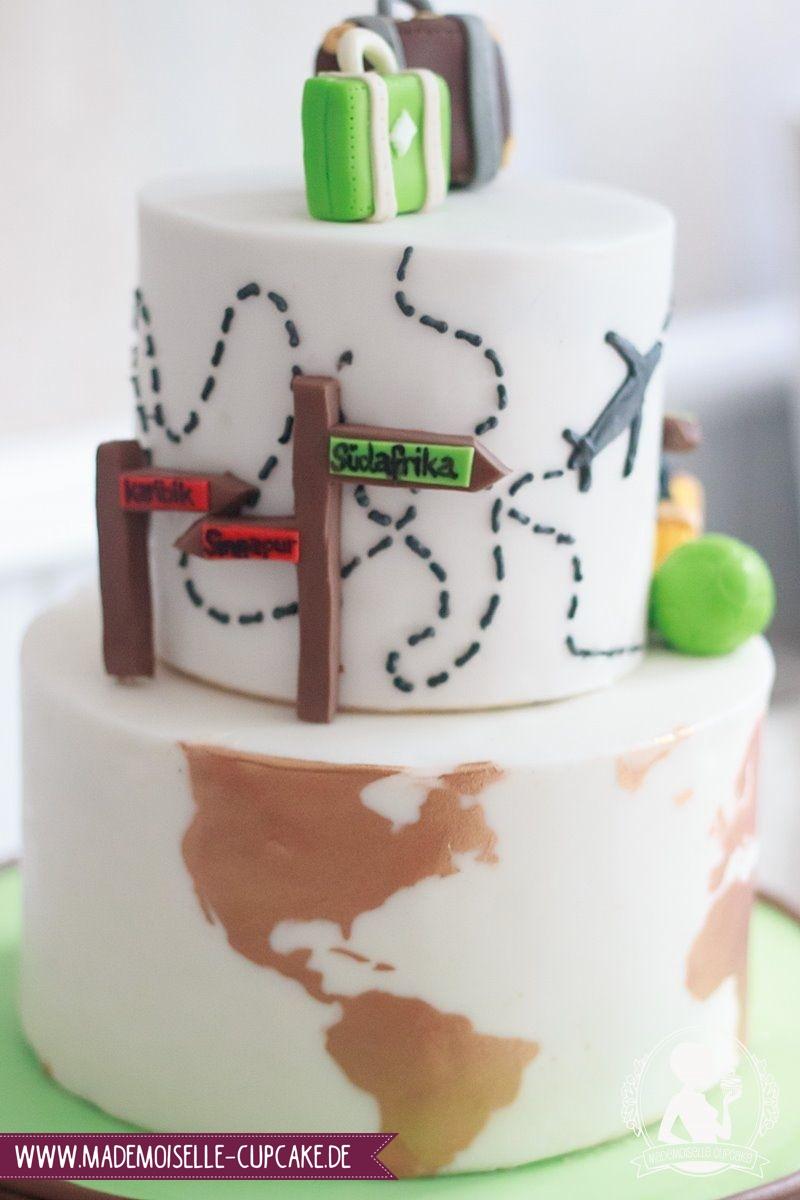Weltreise Mademoiselle Cupcake