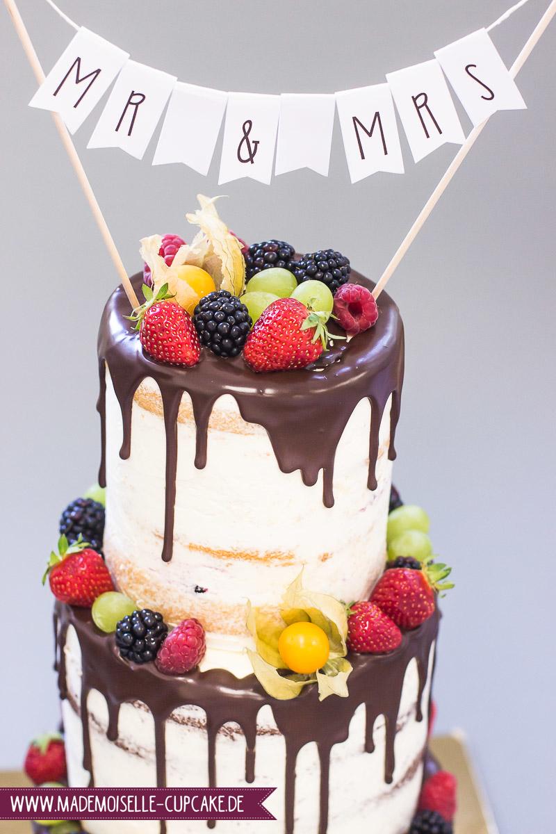 Drip Cake Ranukel - Mademoiselle Cupcake