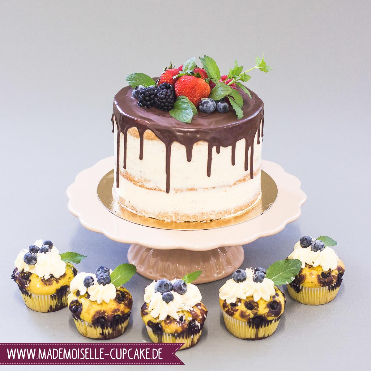 Drip Cake - Mademoiselle Cupcake