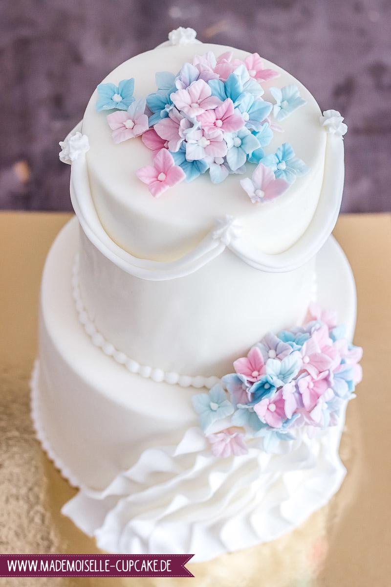 Hortensien Mademoiselle Cupcake