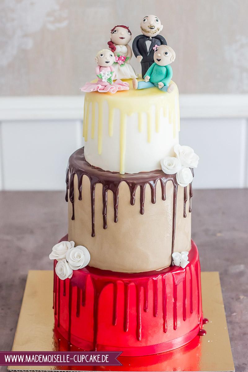 Drip Cake Hase - Mademoiselle Cupcake