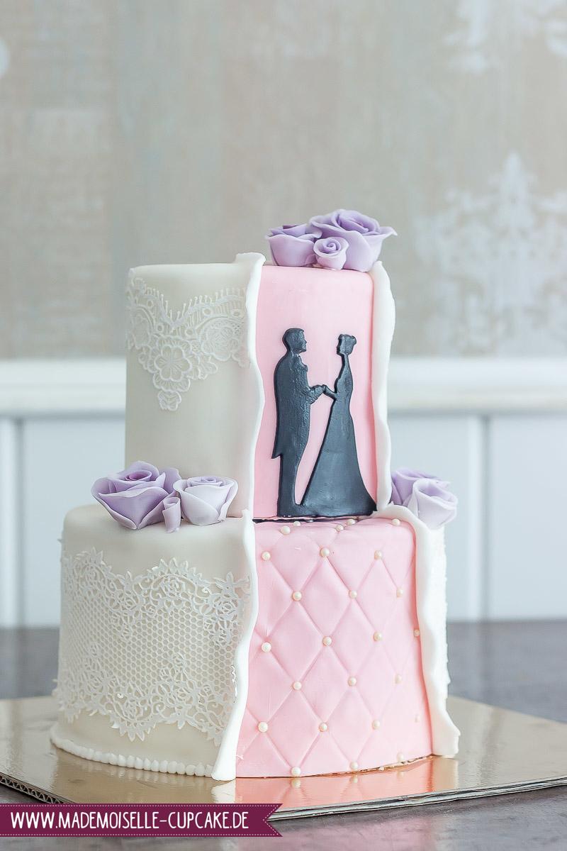 Hochzeitstorten 2017 Mademoiselle Cupcake