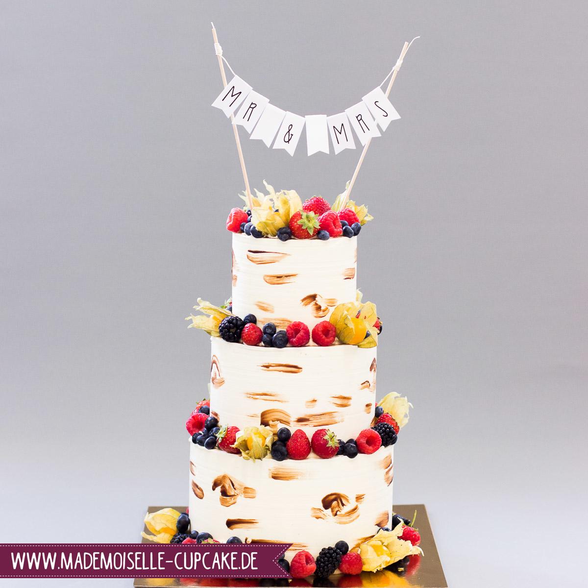Naked Cake Mademoiselle Cupcake