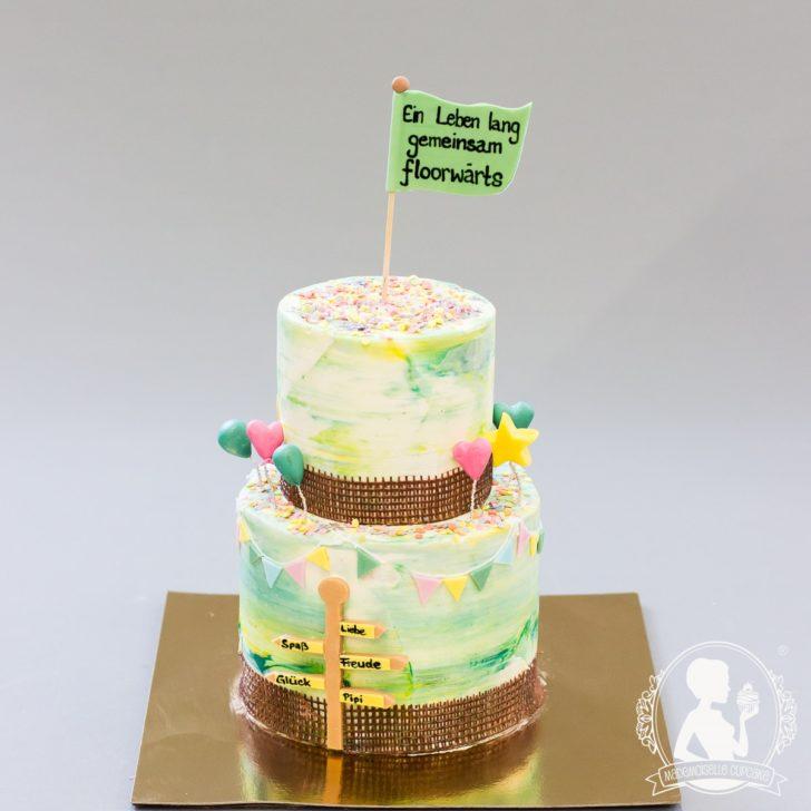 Hochzeitstorten 2018 Mademoiselle Cupcake