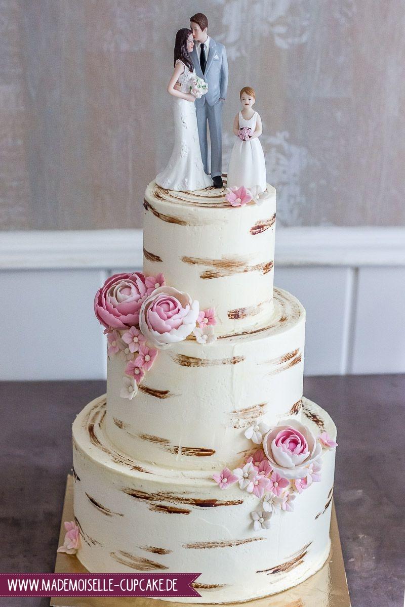 Baumstamm Mit Blumen Mademoiselle Cupcake