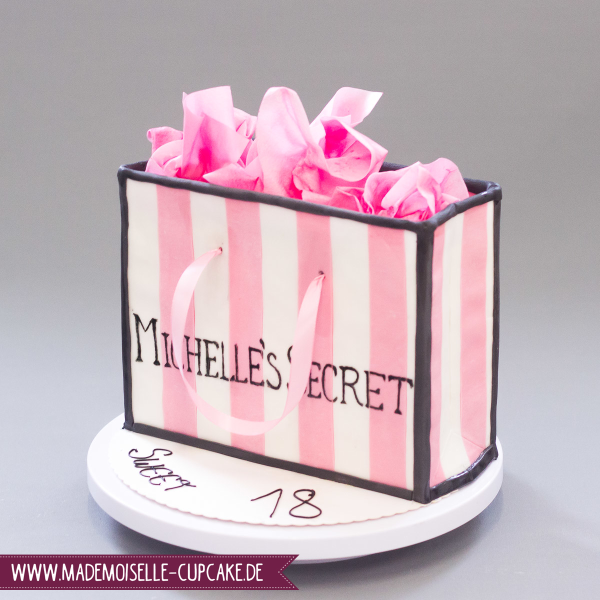 Shopping Bag Mademoiselle Cupcake