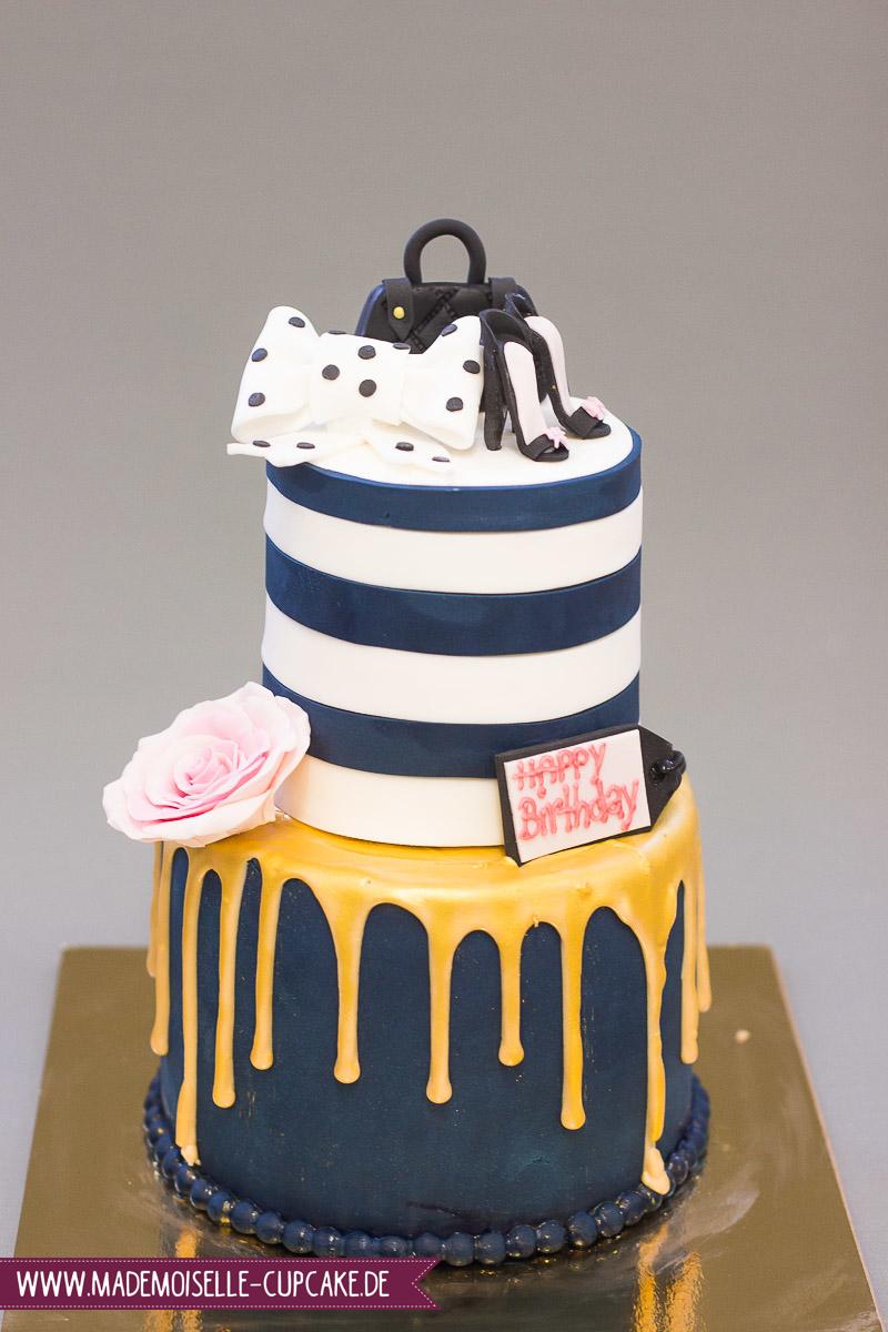 Drip Cake Gold - Mademoiselle Cupcake